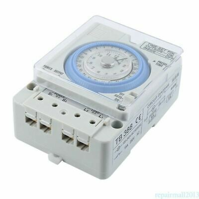 5X(New TB-388 Rectangle 15 minutes / 96 times Switch Timer Without Battery F8D7)