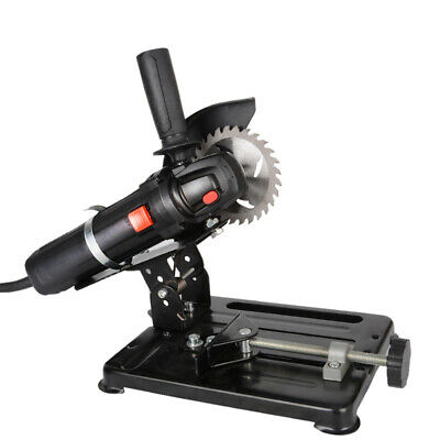 220V Mini Bench-top Saw Electric Angle Grinder for Metal Wood Cutting 45° Adjust