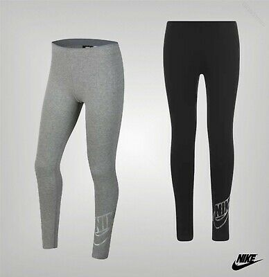 Girls Nike Elasticated Waist Stretch Soft Shine Leggings Sizes from 7 to 13