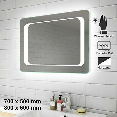 Led Bathroom Mirror Lights Touch Switch Sensor Demister Pad Illuminated Mirrors Eur 72 19 Picclick Fr