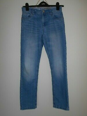 NEXT boys jeans age 12 years 152cm blue cotton blend adjustable waist
