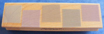 Hero Arts 'Row of Five Backgrounds' Rubber Stamp