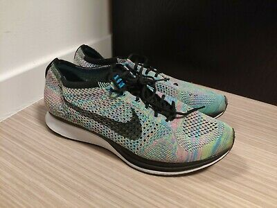 amazing price low cost los angeles RARE NIKE FLYKNIT Racer Multicolore 526628-004 UK 9 / EU 44 / US ...