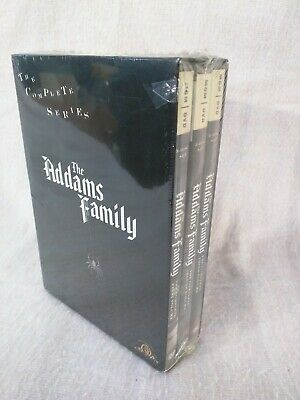 The Addams Family: Complete Series  9-DVD SET Complete Volumes 1-3 NEW SEALED