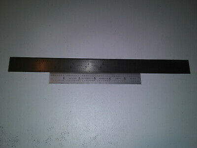 Lot Of 2 Starrett N0.c 604re And 603 No. 4 Grad. Machinist Rulers Free Shipping!