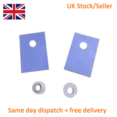 10pcs TO-220 Transistor Insulator with insulating washer