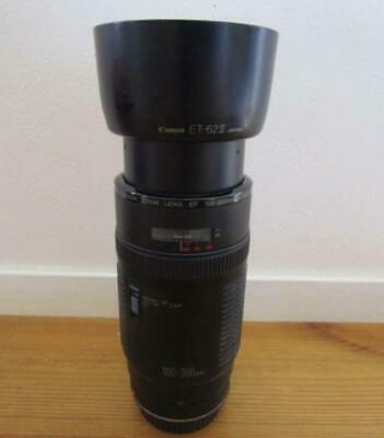 Used Canon EF100-300mm hooded large powerful 300mm super-telephoto lensLimit