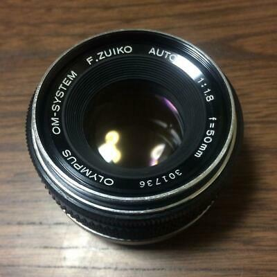 Used Olympus F.ZUIKO AUTO-S 50mm f1.8 focal length lens 1Limited Good condit