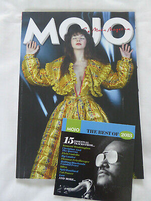 Mojo Magazine no.302 January 2019 Kate Bush Phil May Van Morrison CD Ex cond!