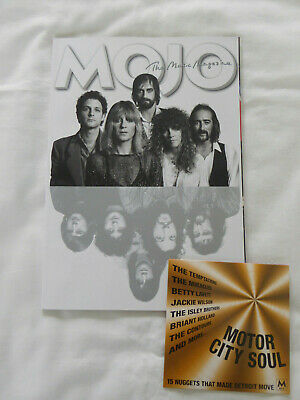 Mojo Magazine no.306 May 2019 Fleetwood Mac Joy Division Status Quo + CD Ex con!
