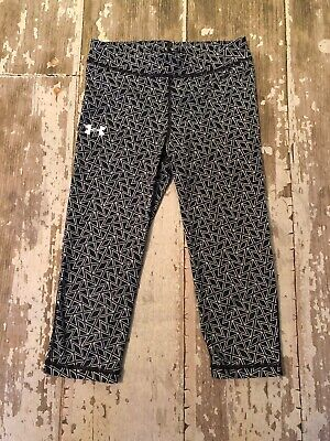 Under Armour Youth Kids Capri Pant Bottom Size 10 Geometric Pattern