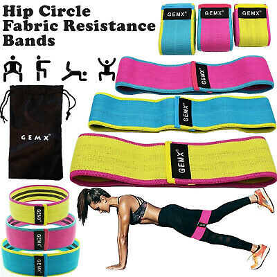 Hip Circles Fabric Resistance Bands Non Slip Fitness Glutes Booty Band Leg Squat