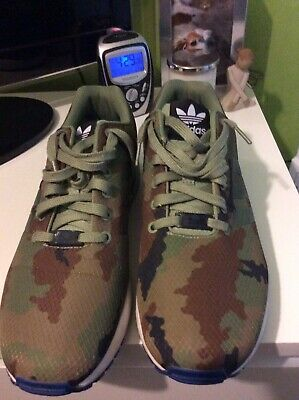 MENS ADIDAS ZX Flux Torsion Camouflage Trainers Size 10.5