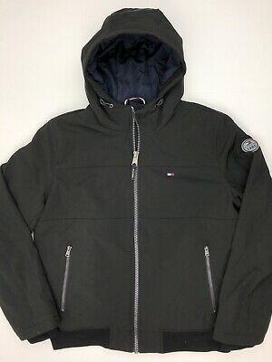 NWT Men/'s Tommy Hilfiger Softshell Jacket Insulated Variety Hooded Hilfiger Logo