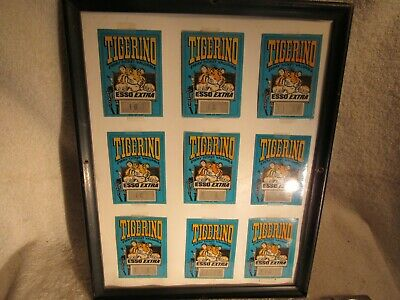 1960's ESSO Tiger / Tigerino Collectable tickets for Gas Discounts