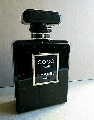 "Chanel Coco Noir Eau De Parfum Factice Dummy 4 3/8"" Display Bottle 100Ml 3.4 Oz"