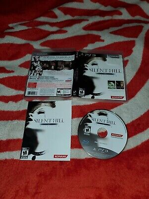 Silent Hill HD Collection (Sony PlayStation 3, 2012) complete cib