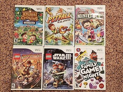 Nintendo Wii Games! You Choose from Selection! $7.95 Each!