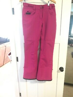 Womens Planet Earth Pink Snow Pants Pre Owned  Size Sm