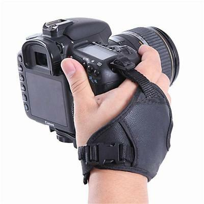 PU Leather Hand Grips Camera Wrist Strap for Canon Nikon Sony DSLR SLR S3