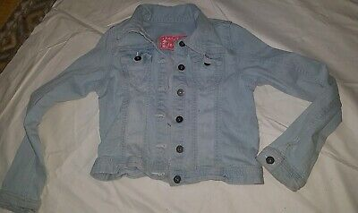 Girls Denim Jean Jacket Age 11-12