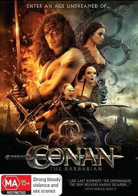 Conan The Barbarian DVD - Jason Momoa