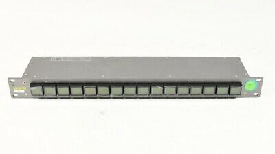Evertz CP-1000E Intelligent Router Control Panel Routing Switch CP1000E