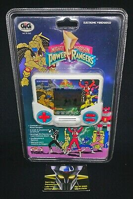 Videogioco portatile LCD Electronic GIG TIGER, POWER RANGERS, 1994 MISB NEW!!