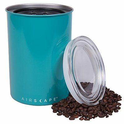 Coffee Storage Canister - Airtight Container Preserves Food Freshness - AirScape