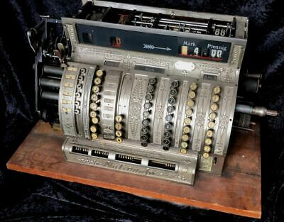 National Registrierkasse NCR Original National Cash Register 1900 Restaurieren