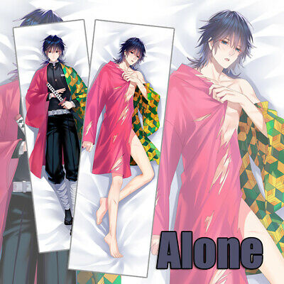 Demon Slayer Kimetsu No Yaiba Tomioka Giyuu Dakimakura Hug Body Pillow Cover 59/""