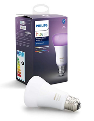 Hue White & Col. Amb. E27  Bluetooth (smart light)