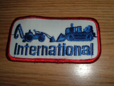 2 PATCHES INTERNATIONAL HARVESTER COLLECTORS