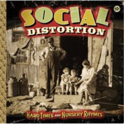 Social Distortion-Hard Times and Nursery Rhymes CD NEW