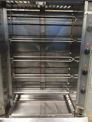 Roller grill Electric Chicken Rotisserie RBE 20 ,2 Phase,20 Chicken,Immaculate