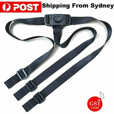 3 Point Harness Stroller High Chair Pram Buggy Safe Belt Strap Children Baby Kid