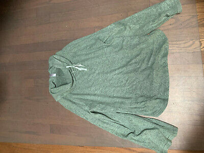 Gilligan and O'Malley Olive Green Pullover