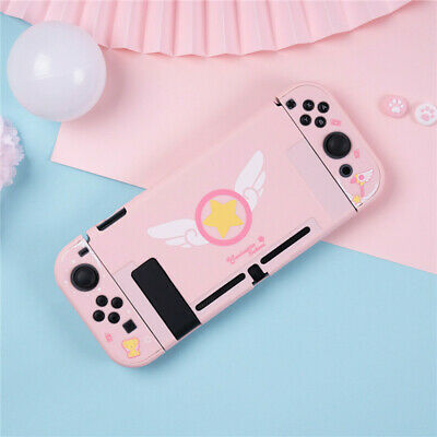 Card Captor Sakura Pink Cover for Nintend Switch NS Console Protector Case Cover