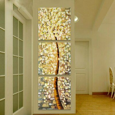 Modern Art Oil Canvas Print Painting Wall Picture Life Tree Home Decor  s GO
