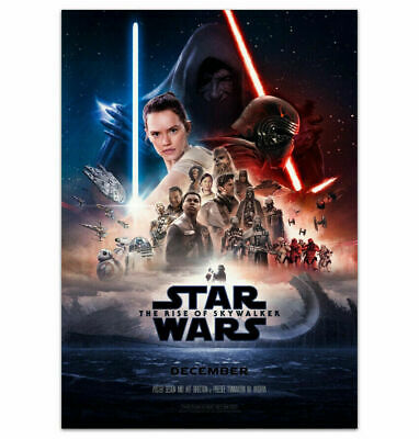 Art Art Posters Star Wars The Rise Of Skywalker Poster Bb 8 Ix Movie Film 2019 Bb8 Print Silk Edita Nc