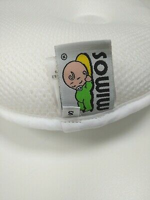 MIMOS Baby Pillow S(Was XL) for flat head (Plagiocephaly) -Air flow Safety 1-10