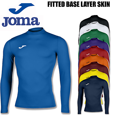 Joma Brama Academy Compression Skin Thermal Top Base Layer Mens Boys Kids Top