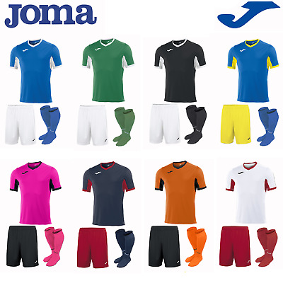 Joma Football Full Team Kit Sports Strip Kids Boys Childrens Shirts Champion
