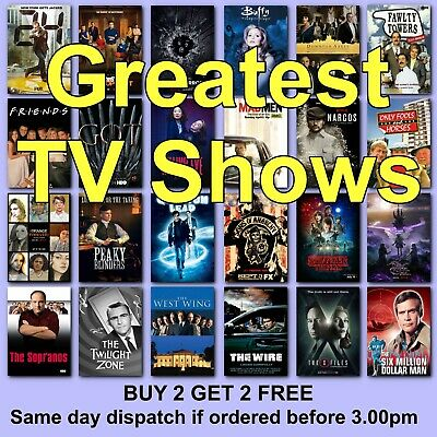 TV Shows Poster Classic Movie Posters Film Poster Films HD Borderless Printing