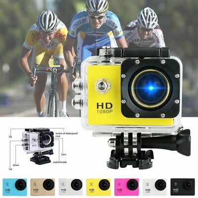 Outdoor Sports Action Camera 4K HD 1080P WIFI 30M Waterproof DV Camcorder