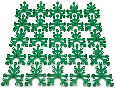 ☀️LEGO LOT OF 12 NEW BRIGHT GREEN 6 X 5 LEAVES LEAF PLANT PIECES