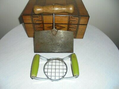 Vintage/Antique Herb Chopper And Tala Potato Chipper