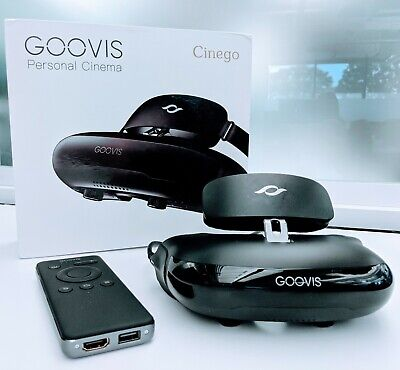 Goovis G2 Cinego Personal Cinema Theater Glasses Headset