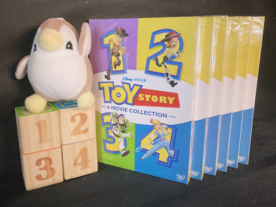 Toy Story 1-4 All 4 Movies Included Brand New DVD Box Set 1 2 3 4