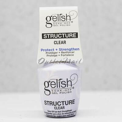 Gelish Harmony Soak Off - BRUSH-ON STRUCTURE GEL CLEAR 0.5oz/15ml Item#1140006